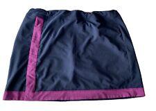 ADIDAS Golf Skirt Climacool Inner Skort Blue Purple Pockets Size XL