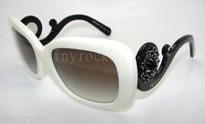 Authentic PRADA Rectangular Ivory White Sunglasses PR 33P 33PS - 7S30A7  *NEW*