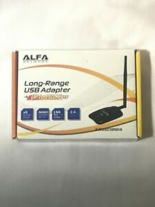 Alfa AWUS036NHA 802.11n Wireless USB Adapter Atheros Chip AR9271L 2.4GHz 150Mbps