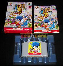 GANBARE GOEMON DERO DERO DOUCHUU Nintendo 64 N64 Versione Giapponese •• COMPLETO