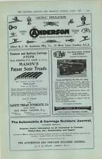 1927  Albert Anderson Tramway Power Supplies Safety Tread Syndicate Ad