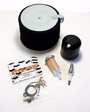 Kawasaki Mule 500 520 550 Tune Up Kit Oil Fuel Air Filter Spark Plug & Carb Kit