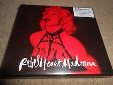 MADONNA 2xCD DELUXE ALBUM REBEL HEART EDITION POP DIGIPAK EXCELLENT