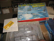 ESCI ERTL 1:72 Tu-22 M / Tu 26 Backfire C Naval Raider Plastic Model Kit #9088U