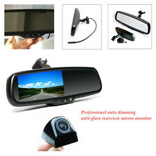 4.3inch Hd 800*480 Tft Lcd Rear View Mirror Monitor w/ Rear Camera Night vision