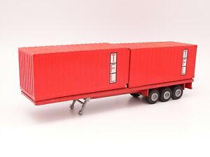 Tekno 1/50 - Remorque Containers TFL