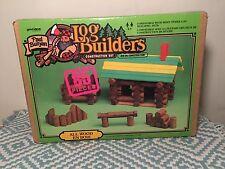 Paul Bunion log builders 85 piece construction set