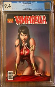 Vampirella #9 CGC NM 9.4 2011 (Ale Garza Cover) Dynamite Entertainment
