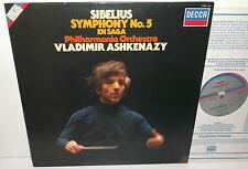 SXDL 7541 Sibelius Symphony No.5 Vladimir Ashkenazy Philharmonia Orchestra