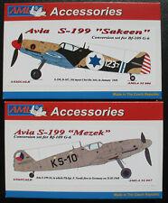 AML 006 + 007 - Avia S-199 Sakeen + Mezek - Conversion Set for BF-109 G-6 - 1:32