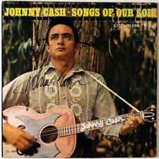 Johnny Cash Autographed Album Cover, LP Included, Guaranteed Original!