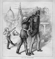 ASYLUM POLICE BRING ROSCOE CONKLING TO THE LOSTHEAD ASYLUM FROM THE CAPITAL NAST