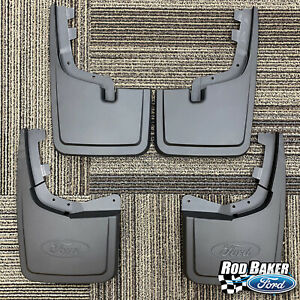 2021 Ford F-150 OEM Genuine Molded Black Splash Guards Mud Flaps w/ Hardware