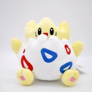 8'' New Togepi Plush Animation Toy Soft Doll Stuffed Plush Doll Kids Gift