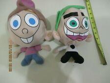 Two Fairly Odd Parents Flippable Superheros Reversible Plush Doll 2003
