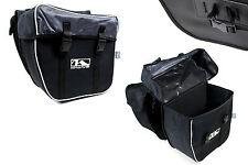 Doppel Fahrrad Tasche Gepäckträger Packtasche M-Wave 30 L Reflex Gepäcktasche