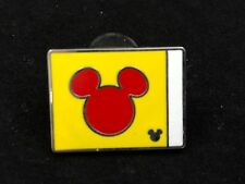 Disney Pin - Yacht Club - Yellow Flag with Red Mickey