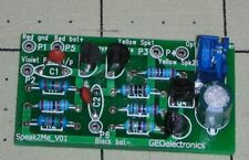 New any Geiger Counter/ CDV-700 SPEAK2ME Speaker-LED Driver PCB (Clicker)