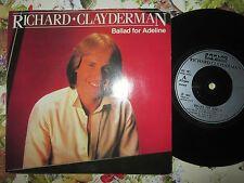 Richard Clayderman – Ballad For Adeline Delphine RC 101 UK 7inch Vinyl Single