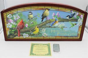 """Bradford Exchange """"Die Vogelhochzeit"""" von James Hautman, Limited Edition"""