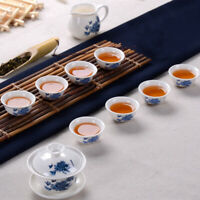 KungFu Service à Thé Verres Argile Pourpre Céramique Binglie Théière Tasse à thé