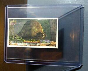 2015 Upper Deck Dinosaurs Canvas Mini Glyptodon #136 Trading Card