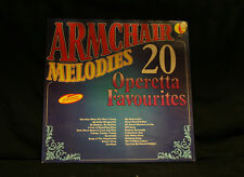 ARMCHAIR MELODIES - 20 OPERETTA FAVOURITES - K-TEL UK *BUY 1 LP GET 1 LP FREE* Z