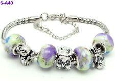 1pc beautiful charm bracelet fit porcelain beads S-A40