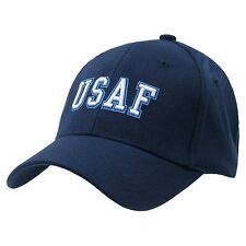 BLUE UNITED STATES AIR FORCE CAP HAT HATS USAF FLEX S/M