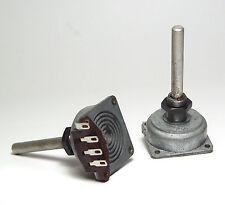 2x Preh Radio-Potentiometer, 2.5 kOhm LIN, ESA Typ im Gußgehäuse, 2W, NOS