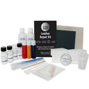 Leather Repair Kit for BMW. FIX Tear Scratch Scuffs & Holes ALL COLOURS