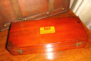 Antique Complete SIKES'S HYDROMETER BUSS, 33 Hatton Garden, Bone Thermometer