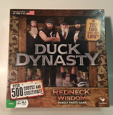 Duck Dynasty - Redneck Wisdom - Family Party Board Game - age 10+ - Brand New