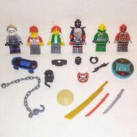 LEGO MINIFIGURES Bundle Mixed Lot FIGURES Weapons ACCESSORIES Ninjago