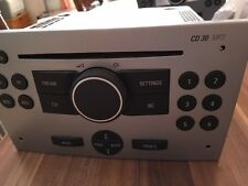 Blaupunkt cd30 mp3 cd/mp3 - Player autoradio argent pour marque OPEL avec facture