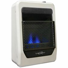 Lost River Liquid Propane Gas Ventless Blue Flame Gas Space Heater - 10,000 BTU