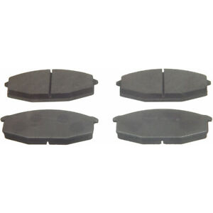 Disc Brake Pad Set-ThermoQuiet Disc Brake Pad Front fits 79-83 Nissan 280ZX