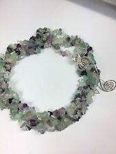 Fluorite Endless Chip Bead Necklace 35inch One-size-fits-all