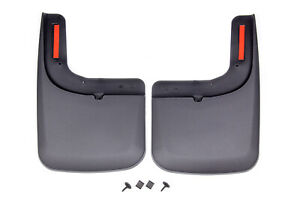 17-   Ford F250 Front Mud Flaps w/OE Flares HUSKY LINERS 58471