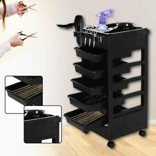 Salon Hairdresser Barber Beauty Storage Trolley Hair Drawers Colouring Cart Spa