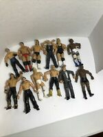 WWE/WWF Jakks Pacific Wrestling Action Figures Lot of 12 WWF / WWE (As Is)
