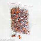 EarPlugs 200 Pair Orange Soft Foam Value Individually Wrapped NRR 32DB