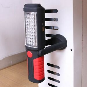 LED COB Hand Torch Car Workshop Inspection Lamp Magnetic Work Light Rechargeable