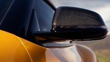 Toyota Supra GR 2020 - 2021 Black Carbon Fiber Mirror Caps Set of Two - OEM NEW!