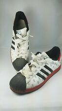 Men's Adidas Superstar 22 Cities City Berlin Sneakers Size 14 White Red  Germany