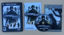 Jeu PC COMPANY of HEROES Game Of The Year GOTY avec petit ART BOOK