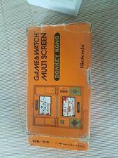 Caja Game Watch Donkey Kong Original