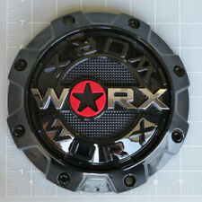 WRX-8856B / Worx Alloy Gloss Black 5/6-Lug Center Cap
