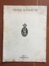 Programme THEATRE EDOUARD VII Un Tramway nommé désir JEAN COCTEAU Jean Lucas *