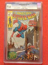 AMAZING SPIDER-MAN #95 CGC 9.6 SPIDERMAN IN LONDON STAN LEE ROMITA 2ND HIGHEST